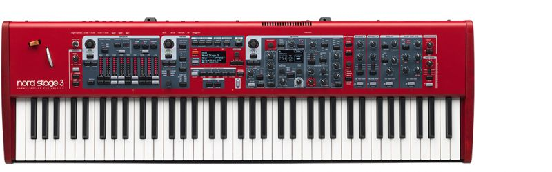 Nord(Clavia) NORD STAGE 3 HP76【ノード】【ステージ3】【コンパクト】【送料無料】