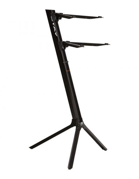 大洲市 STAY(ステイ)1100/2 S S BK Keyboard Keyboard Stand【Black/ブラックカラー】【アームバーが真っ直ぐのタイプ】【~61鍵盤用 キーボード・スタンド/2段】【1100/02 Slim】【送料無料】, くすりのチャンピオン:10f2edcf --- oflander.com