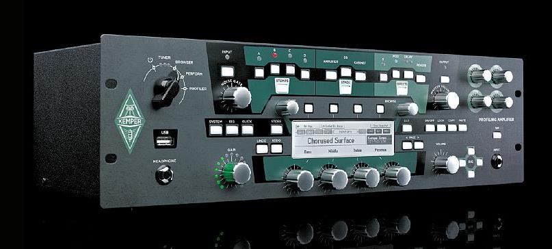 KEMPER PROFILER AMP RACK 【Profiling Amplifier】【ケンパー プロファイラー アンプ ラック】【送料無料】