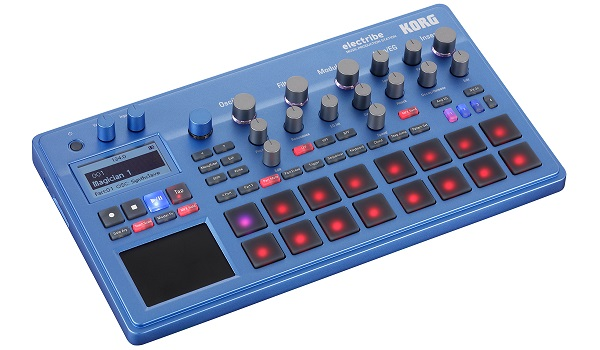 KORG electribe BL 【ブルー】【ELECTRIBE2-BL】【MUSIC PRODUCTION STATION】【送料無料】