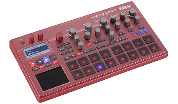 KORG electribe sampler RD 【レッド】【ELECTRIBE2S-RD】【MUSIC PRODUCTION STATION】【送料無料】