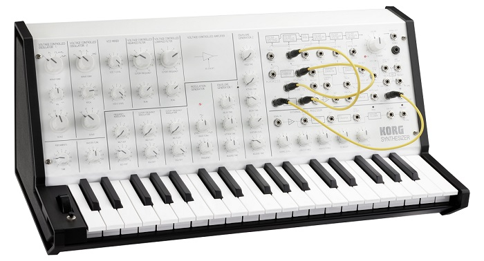 KORG MS-20 mini WM (White Monotone)【MS-20 MINI-WM】【台数限定モデル】【送料無料】