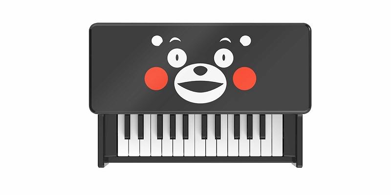 【アウトレット】KORG コルグ tinyPIANO BKKM (くまモンブラックカラー)【数量限定!メーカー再生品!】【DIGITAL TOY PIANO/デジタル トイ ピアノ】【送料無料】