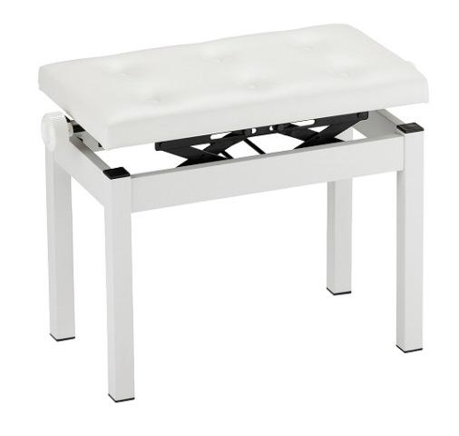 KORG PC-770-WH【高低自在椅子】【PIANO BENCH/ピアノベンチ】【White/ホワイト】【送料無料】