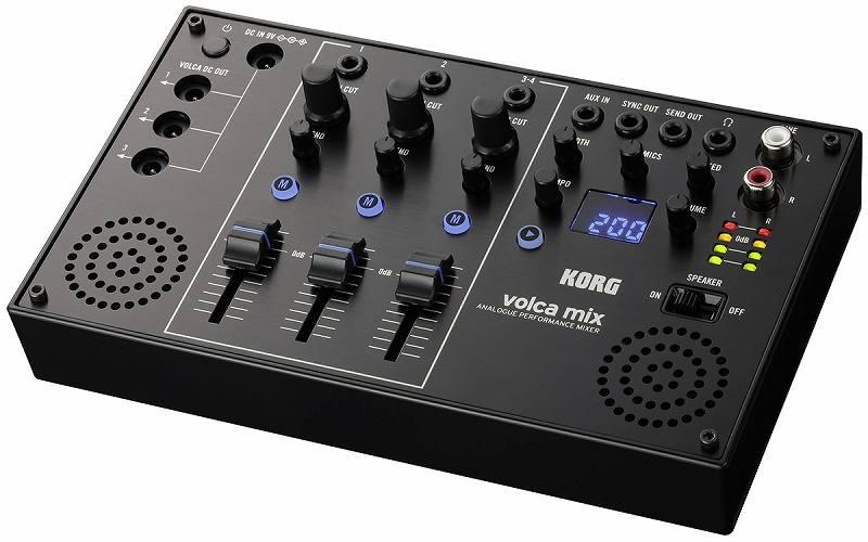 KORG volca mix【コルグ】【ボルカ・ミックス】【4チャンネル・ミキサー】