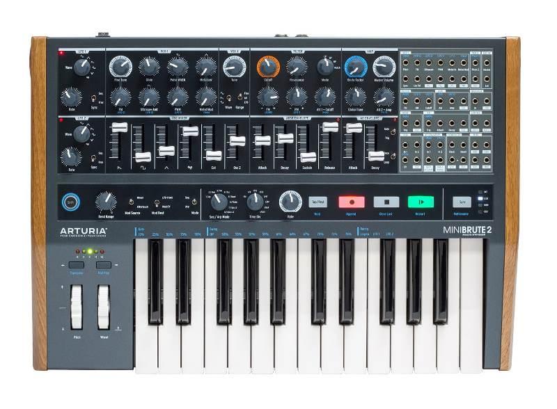 ARTURIAMiniBrute2キーボード搭載タイプ】【アートリア】【ミニ・ブルート2】【Hardware Synthesizers】【送料無料】
