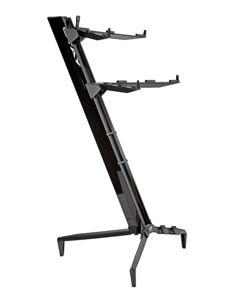 STAY(ステイ)1300/2 T BK Keyboard Stand【Black/ブラックカラー】 【~76鍵盤用 キーボード・スタンド/2段】【1300/02 Tower】【送料無料】