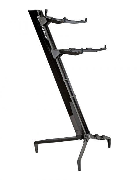 STAY(ステイ)1300/2 T BK Keyboard Stand【Black/ブラックカラー】 【~76鍵盤用 キーボード・スタンド/2段】【1300/02 Tower】【送料無料】