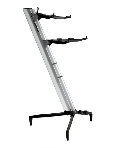 STAY(ステイ)1300/2 T SV Keyboard Stand【Silver/シルバーカラー】 【~76鍵盤用 キーボード・スタンド/2段】【1300/02 Tower】【送料無料】