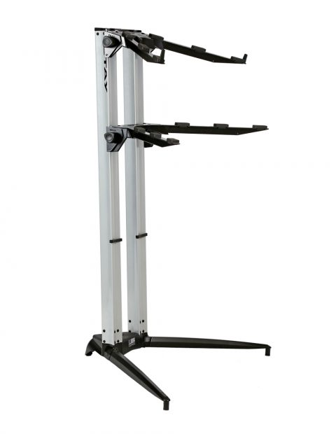 STAY(ステイ)1200/2 P SV Keyboard Stand【Silver/シルバーカラー】 【~88鍵盤用 キーボード・スタンド/2段】【1200/02 Piano】【送料無料】