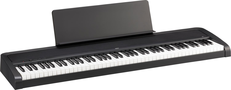 【カバー・お手入れセットプレゼント!】KORG B2-BK 【ブラック】【アウトレット:箱ダメージ品】【DIGITAL PIANO/デジタルピアノ/電子ピアノ/88鍵盤】【送料無料】