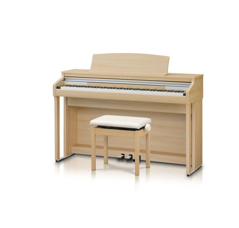 【高低自在椅子&ヘッドフォン付属】KAWAI CA48LO【ライトオーク調】【河合楽器・カワイ】【電子ピアノ・デジタルピアノ】【2017年NEWモデル!!】【送料無料】