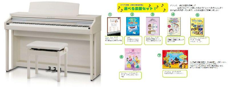 【高低自在椅子&ヘッドフォン付属】KAWAI CA48A【プレミアムホワイトメープル調】【河合楽器・カワイ】【電子ピアノ・デジタルピアノ】【お得な選べる楽譜セット!】【送料無料】