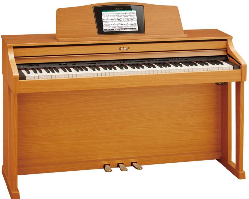 タイムセール【高低自在椅子&ヘッドフォン付属】Roland ローランド HPI50e-LWS(ライトウォールナット調仕上げ)【10月下旬入荷予定!】【電子ピアノ・デジタルピアノ】【送料無料】