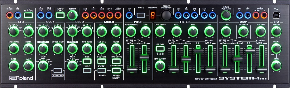 Roland 【AIRA series】SYSTEM-1m PLUG-OUT Synthesizer【送料無料】