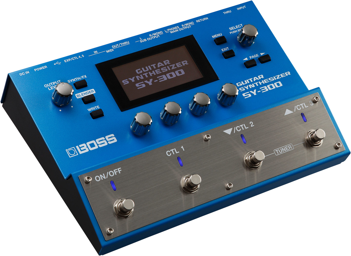 BOSS(Roland)SY-300Guitar Synthesizer【ボス】【ギターシンセ】【シンセサイザー】【入荷しました】【送料無料】