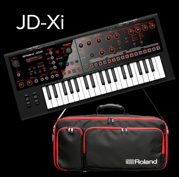 RolandJD-Xi 【専用ケース付きセット】【送料無料】