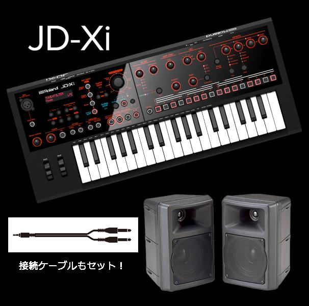RolandJD-Xi 【モニターアンプ/ケーブル付きセット】【送料無料】