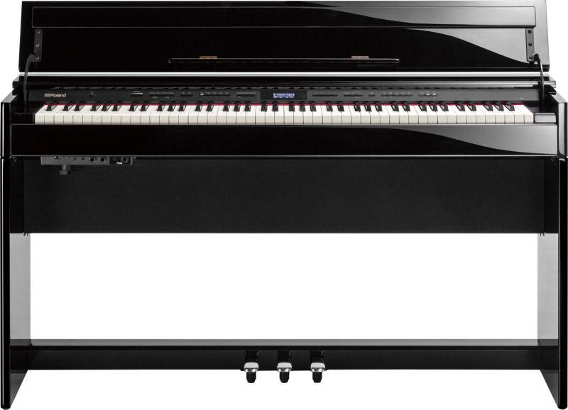 【高低自在椅子&ヘッドフォン付属】Roland ローランド DP603-PES【黒塗鏡面艶出し塗装調仕上げ】【電子ピアノ・デジタルピアノ】【送料無料】
