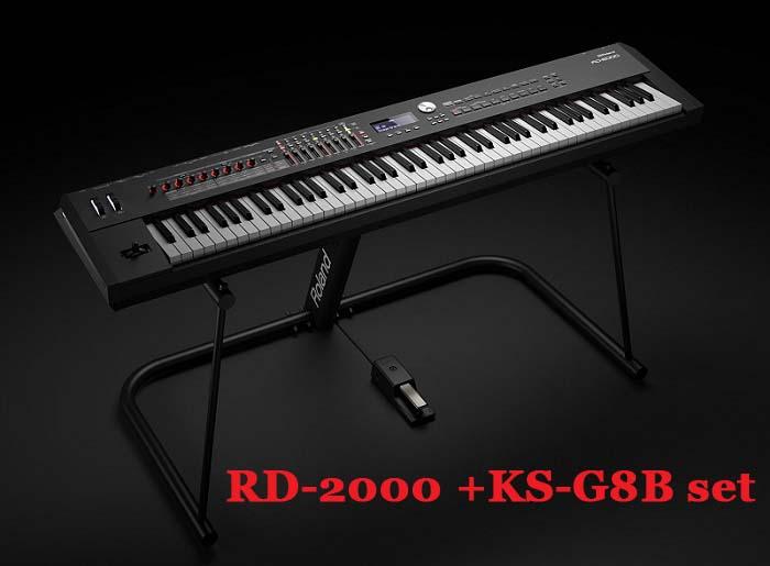 RolandRD-2000 +KS-G8B【純正キーボードスタンドとのお得なセット】【RD2000】【ステージピアノ】【送料無料】