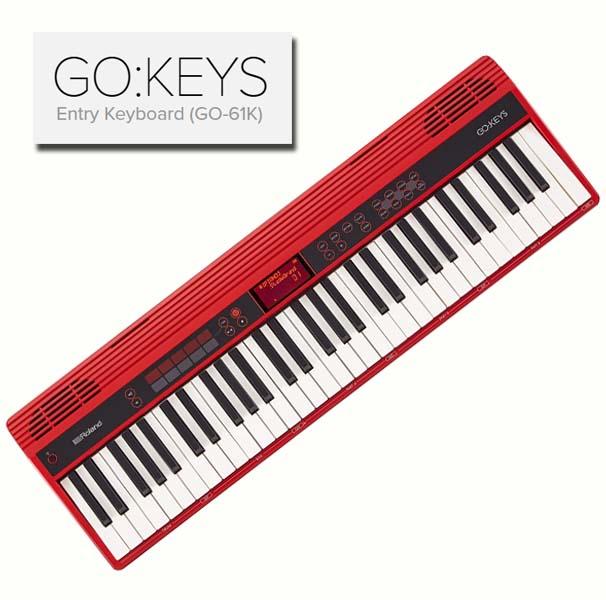 RolandGO:KEYS【Entry Keyboard (GO-61K)】【エントリーキーボード】【送料無料】