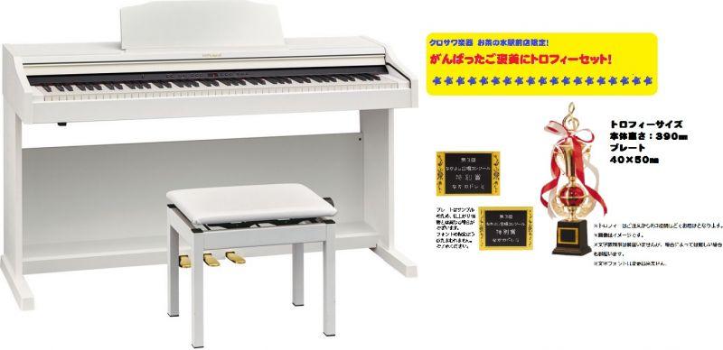 【高低自在椅子&ヘッドフォン付属】Roland ローランド RP501R-WHS ホワイト調【7月下旬以降入荷予定!】【電子ピアノ・デジタルピアノ】【がんばったご褒美にトロフィーセット!】【送料無料】