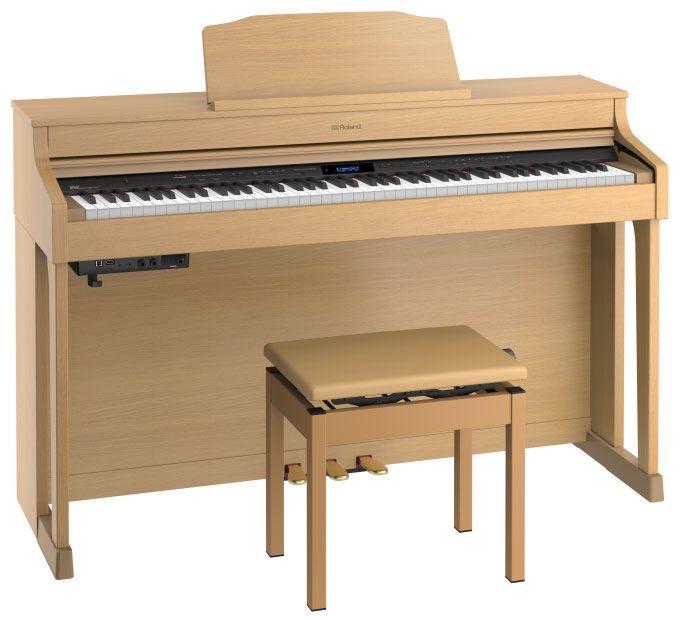 Roland ローランド HP603-A NBS【ナチュラルビーチ】【高低自在椅子&ヘッドフォン付属】【電子ピアノ・デジタルピアノ】【配送設置料無料】