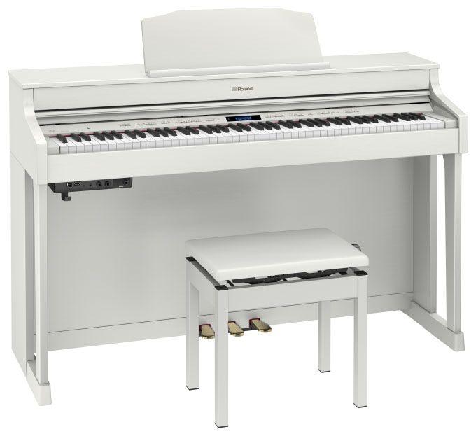 Roland ローランド HP603-A WHS【ホワイト】【高低自在椅子&ヘッドフォン付属】【電子ピアノ・デジタルピアノ】【配送設置料無料】