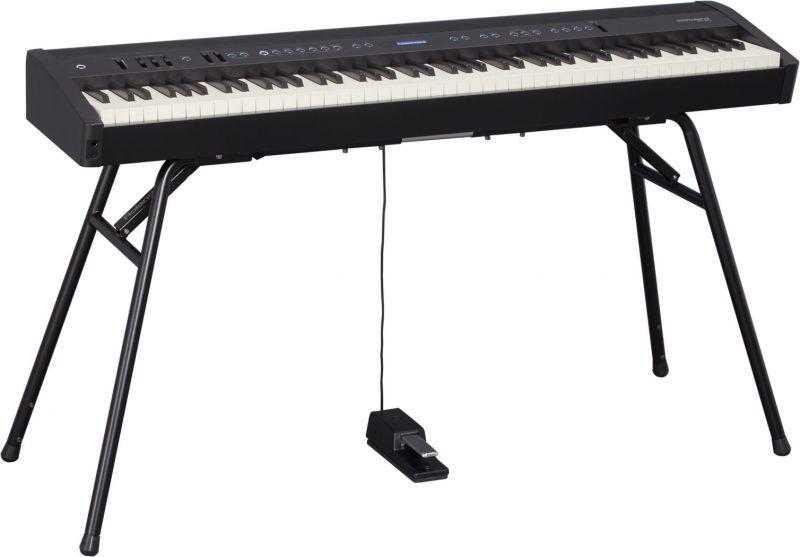 RolandFP-60 BK(ブラック) 専用スタンドセット【FP-60 BK+KS-12】【Digital Piano】【5月中旬以降入荷予定/予約受付中】《デジタルピアノ》【送料無料】