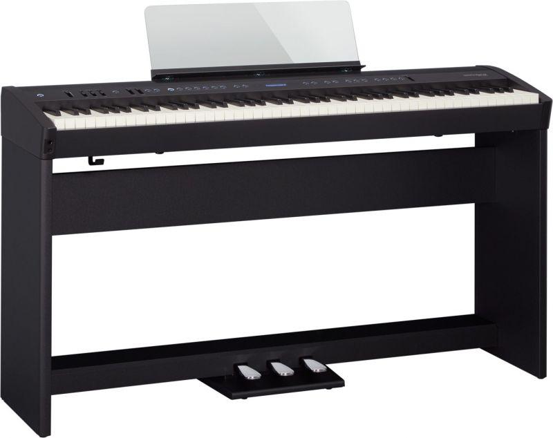 RolandFP-60 BK(ブラック) 専用スタンド&3本ペダルセット【FP-60 BK+KSC-72+KPD-90】【Digital Piano】【5月中旬以降入荷予定/予約受付中】《デジタルピアノ》【送料無料】