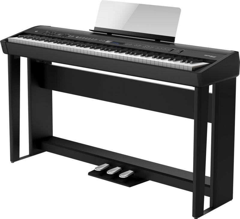 Roland ローランド FP-90-BK 専用スタンドと専用ペダルセット【ブラック】【本体+KSC-90+KPD-90】【デジタルピアノ・電子ピアノ】【送料無料】