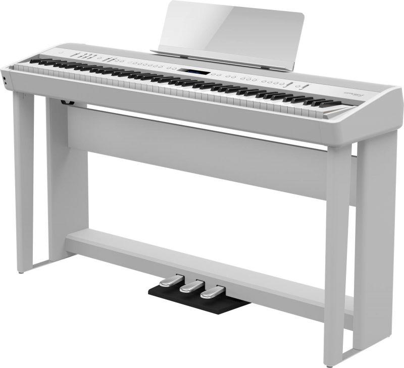 Roland ローランド FP-90-WH 専用スタンドと専用ペダルセット【ホワイト】【本体+KSC-90+KPD-90】【デジタルピアノ・電子ピアノ】【送料無料】