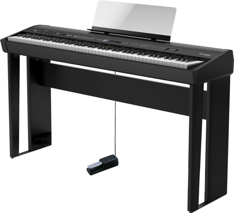 Roland ローランド FP-90-BK 専用スタンドセット【ブラック】【本体+KSC-90】【デジタルピアノ・電子ピアノ】【送料無料】