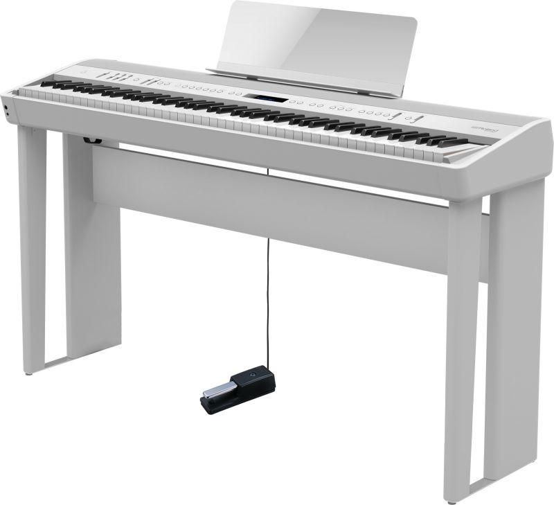 Roland ローランド FP-90-WH 専用スタンドセット【ホワイト】【本体+KSC-90】【デジタルピアノ・電子ピアノ】【送料無料】