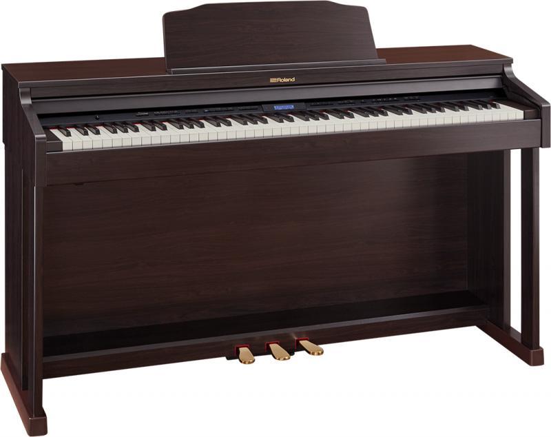 【高低自在椅子&ヘッドフォン付属】Roland ローランド HP601-CRS【クラシックローズウッド調仕上げ】【電子ピアノ・デジタルピアノ】【送料無料】