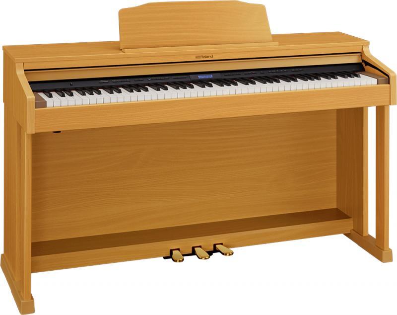 【高低自在椅子&ヘッドフォン付属】Roland ローランド HP601-NBS【ナチュラルビーチ調仕上げ】【電子ピアノ・デジタルピアノ】【送料無料】