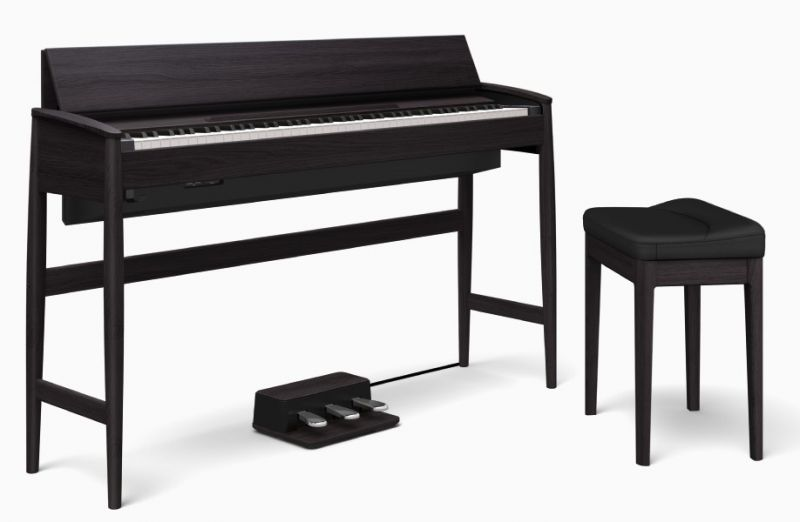 Roland ローランド Kiyola KF-10-KSB【シアーブラック】 【USBメモリー・プレゼントキャンペーン実施中】【KIYOLA/キヨラ】【電子ピアノ・デジタルピアノ】【送料無料】