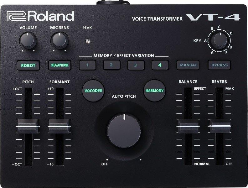 Roland AIRA VT-4 Voice Transformer 初回分完売【次回以降入荷分ご予約受付中】【ローランド】【アイラ】【ボコーダー】【ボイス・エフェクター】【ボイス・チェンジャー】