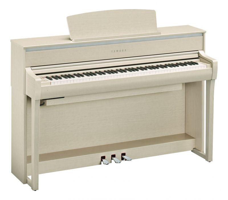 【高低自在椅子&ヘッドフォン付属】YAMAHA ヤマハ CLP-675WA【ホワイトアッシュ】【Clavinova・クラビノーバ】【電子ピアノ・デジタルピアノ】【関東地方送料無料】