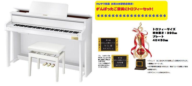 【高低自在イス付属】CASIO カシオ GP-300WE 【CELVIANO Grand Hybrid】【がんばったご褒美にトロフィーセット!】【電子ピアノ・デジタルピアノ】【ハイブリッドピアノ】【送料無料】