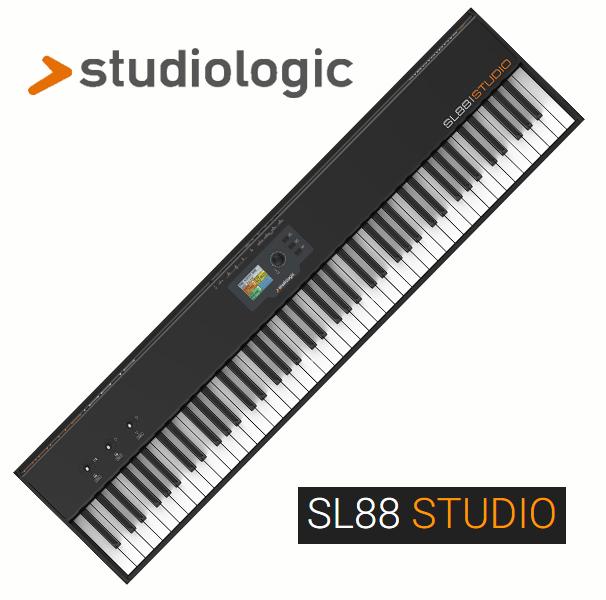 StudiologicSL88 STUDIO【ハンマーアクション鍵盤搭載のMIDIキーボード・コントローラ】【送料無料】