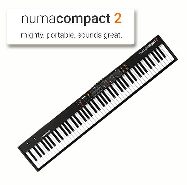 Studiologic Numa Compact 2 【スタジオロジック】【88鍵盤】【送料無料】