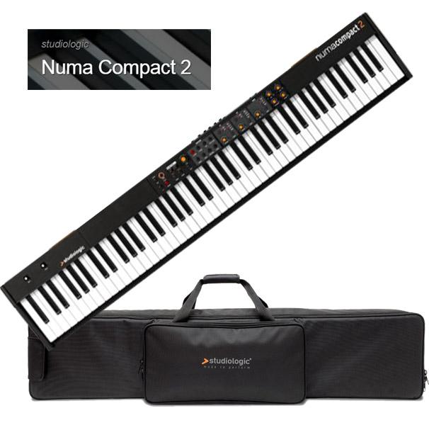 Studiologic Numa Compact 2 【専用ケースセット】【スタジオロジック】【ヌマ・コンパクト 2】【88鍵盤】【送料無料】