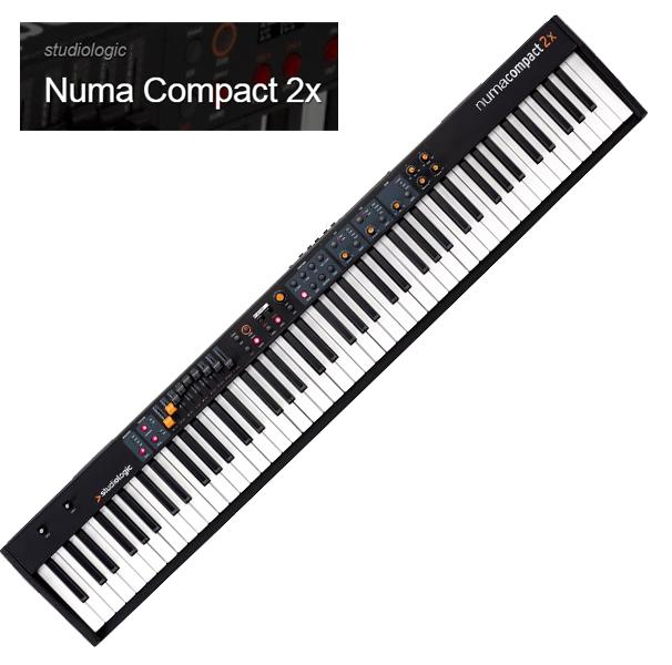 Studiologic Numa Compact 2x【スタジオロジック】【ヌマ・コンパクト 2X】【88鍵盤】【送料無料】