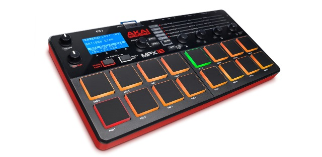 AKAI PROFESSIONALMPX16【SD Sample Recorder and Player】【送料無料】