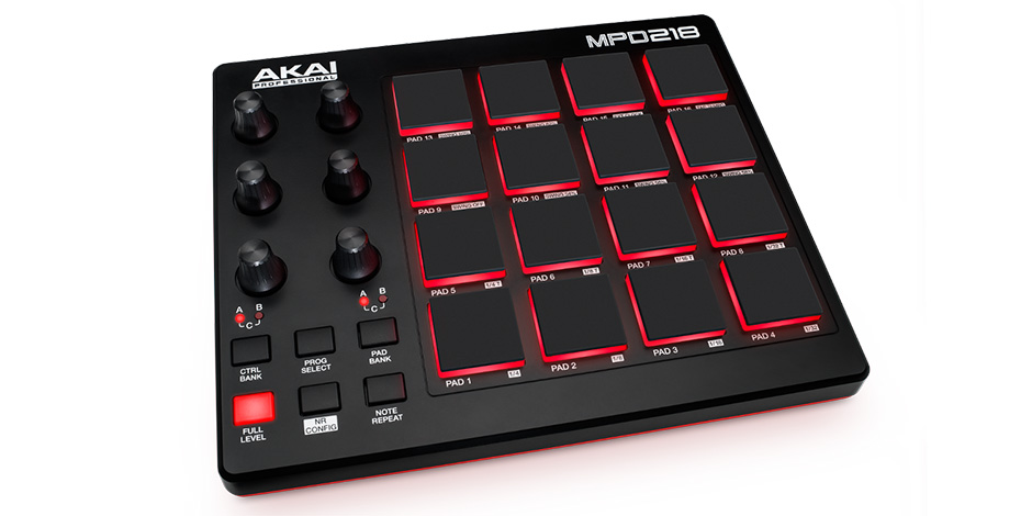 AKAI PROFESSIONALMPD218【Feature-Packed, Highly Playable Pad Controller】【送料無料】