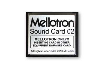 Mellotron (Sweden)Mellotron Sound Card 02【送料無料】