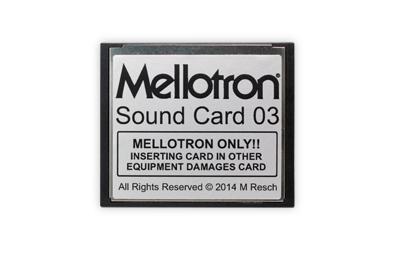 Mellotron (Sweden)Mellotron Sound Card 03【送料無料】