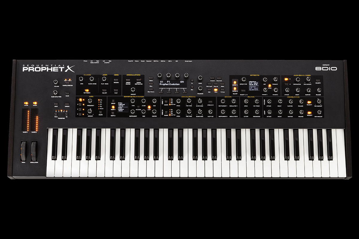 Dave Smith Instruments Sequential Prophet X【デイヴ・スミス】【シーケンシャル】【プロフェット・エックス】【送料無料】
