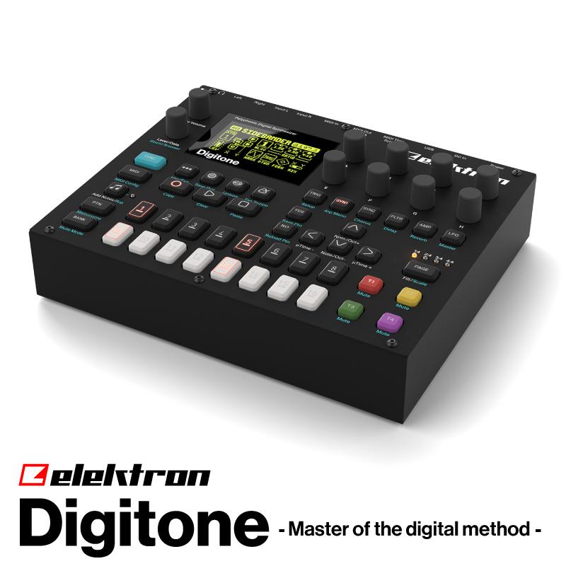 ElektronDigitoneDTN-1【エレクトロン】【デジトーン】【8ボイス】【ポリフォニック】【FMシンセサイザー】【送料無料】